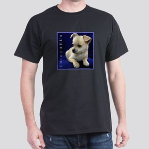 Chihuahua Puppy Lover's Sleek Black T-Shirt