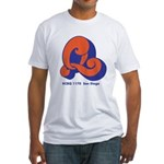 KCBQ San Diego 1972B - Fitted T-Shirt