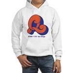 KCBQ San Diego 1972B - Hooded Sweatshirt