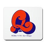 KCBQ San Diego 1972B -  Mousepad