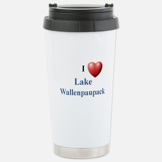 Lake Wallenpaupack Stainless Steel Travel Mug