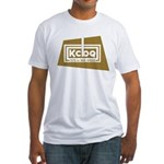 KCBQ San Diego 1958 - Fitted T-Shirt