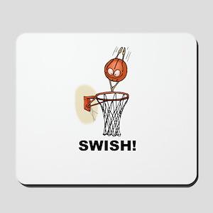 SWISH BASKETBALL DESIGN Mousepad
