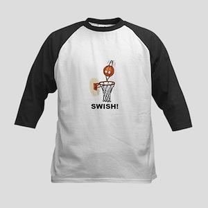 SWISH BASKETBALL DESIGN Kids Baseball Jersey