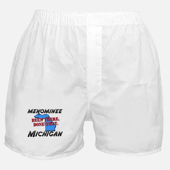 menominee michigan - been there, done that Boxer S