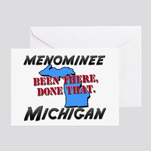 menominee michigan - been there, done that Greetin