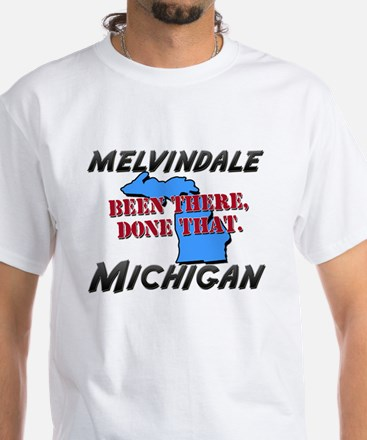 melvindale michigan - been there, done that White