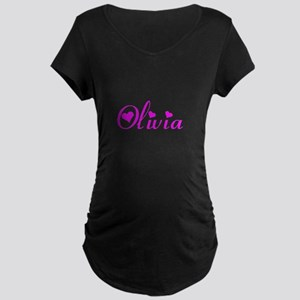Olivia Maternity Dark T-Shirt