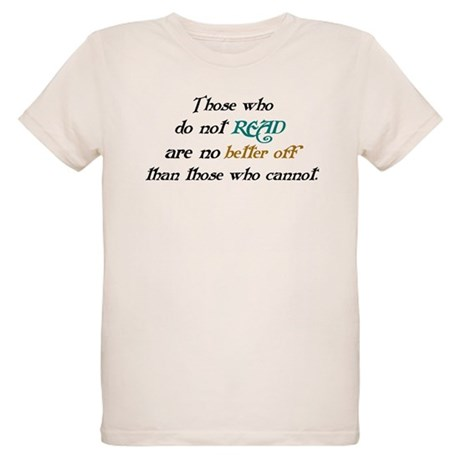 Importance Of Reading Organic Kids T-Shirt
