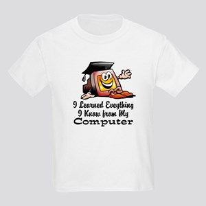Learned from My Computer Kids Light T-Shirt