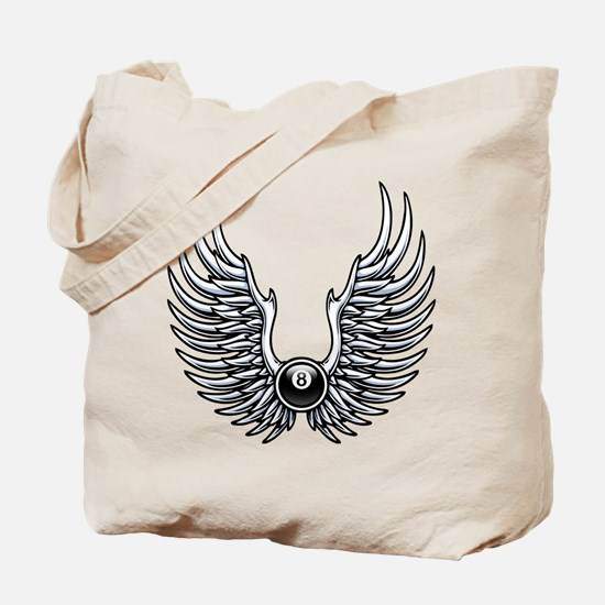Flying 8 Tote Bag