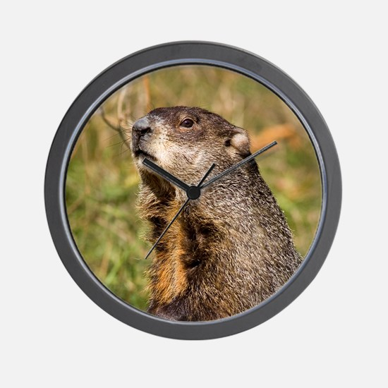Groundhog Wall Clock