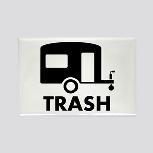 trailer trash Rectangle Magnet