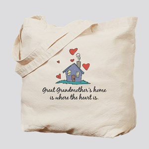 Great Grandmother's Home is Where the Heart Is Tot