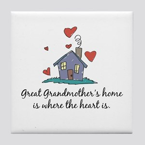 Great Grandmother's Home is Where the Heart Is Til