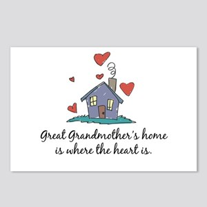 Great Grandmother's Home is Where the Heart Is Pos
