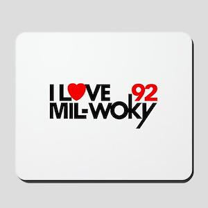 WOKY Milwaukee 1983 -  Mousepad