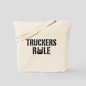 Truckers Rule Tote Bag