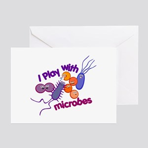 Play with Microbes Greeting Cards (Pk of 10)