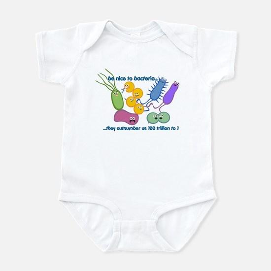 Outnumbered Infant Bodysuit