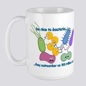 Outnumbered Large Mug