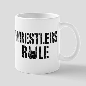 Wrestlers Rule Mug