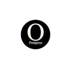 O Pompous Mini Button (10 pack)