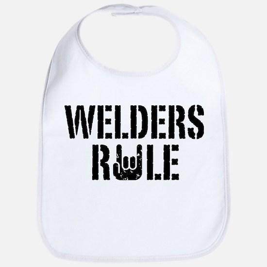 Welders Rule Bib
