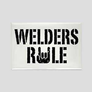 Welders Rule Rectangle Magnet