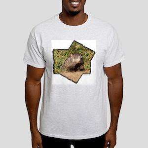 Groundhog Ash Grey T-Shirt