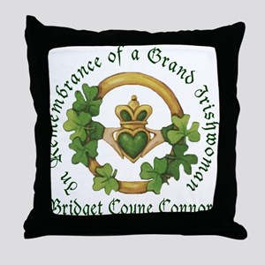 Bridget Coyne Connors In Remembrance Throw Pillow