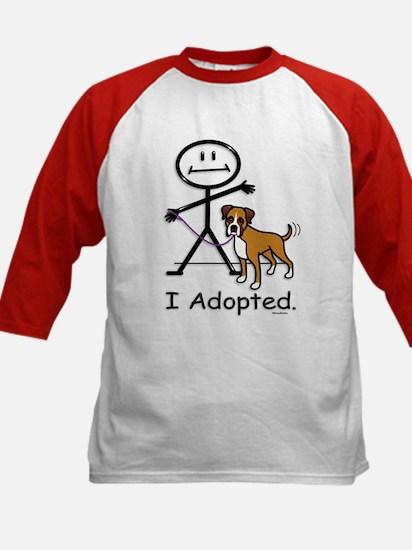 BB Boxer Adoption Kids Baseball Jersey