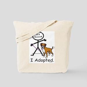 BB Boxer Adoption Tote Bag