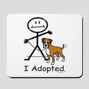 BB Boxer Adoption Mousepad