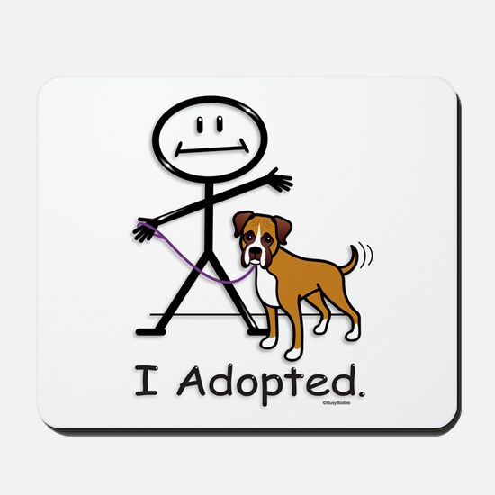 BB Boxer Adoption Mousepad