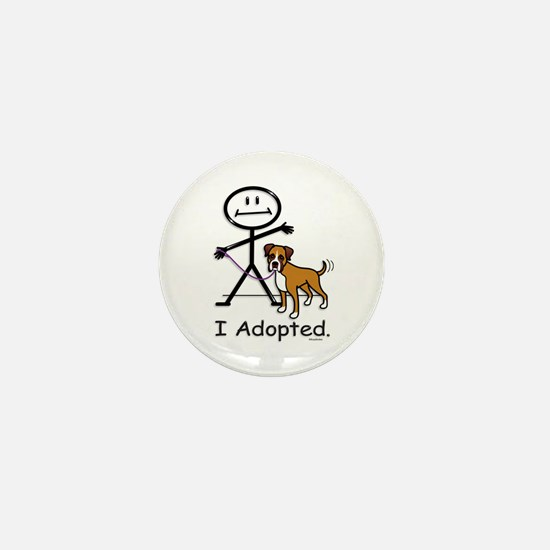 BB Boxer Adoption Mini Button