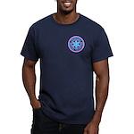 EMT Logo Pastel Men's Fitted T-Shirt (dark)