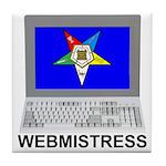 OES Webmistress Tile Coaster