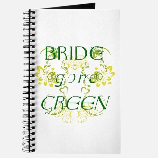 Bride Gone Green Journal