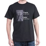 John Lennon Imagine Black T-Shirt