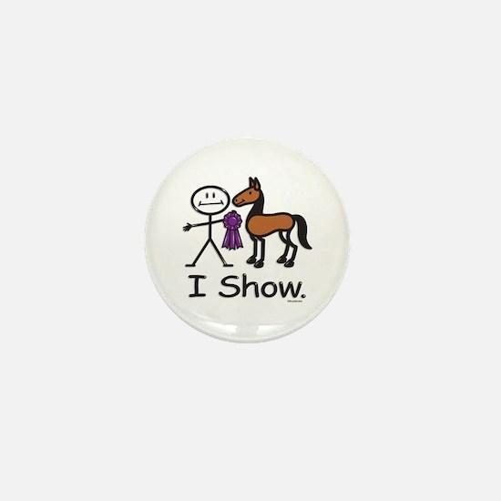Horse Show Mini Button