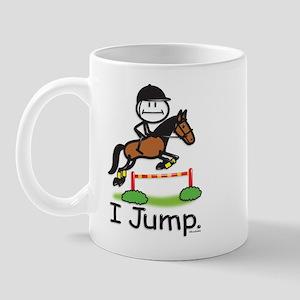 Horse Jumping Mug
