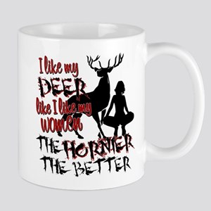 Deer & Women Mug