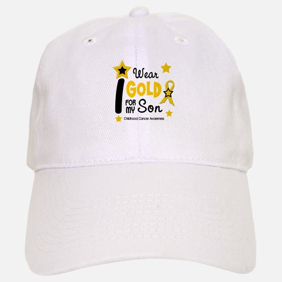 I Wear Gold 12 Son CHILD CANCER Baseball Baseball Cap