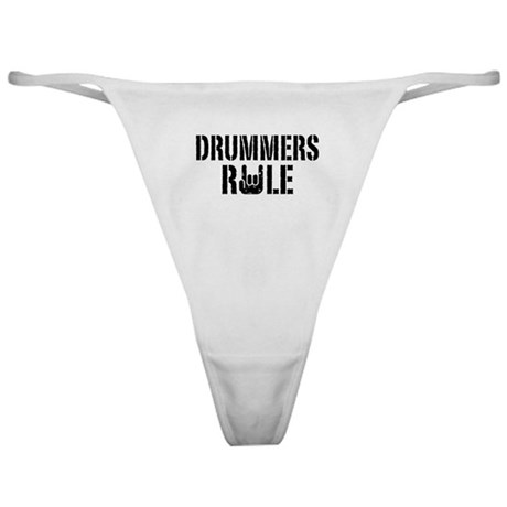 Drummers Rule Classic Thong