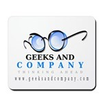 Geeks and Company Mousepad