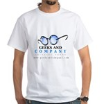 Geeks and Company White T-Shirt