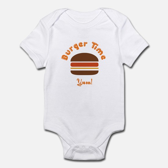 Retro Burger Time Infant Bodysuit