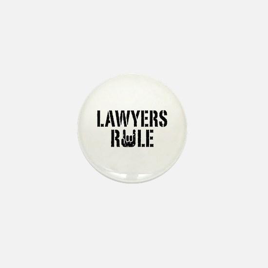 Lawyers Rule Mini Button