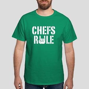 Chefs Rule Dark T-Shirt